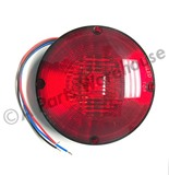 "7"" LED Warning Light Red Reflective Diodes"