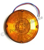 "7"" LED Warning Light Amber Reflective Diodes"