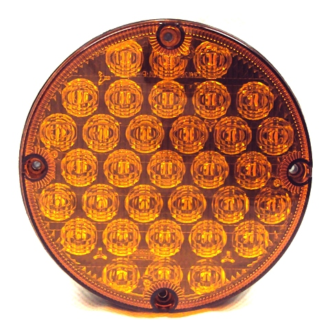 7 Quot Led Warning Overhead Light Amber School Bus Parts For