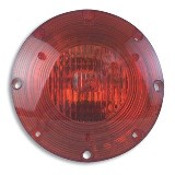 "7"" Warning Light Red, 2 Wire"