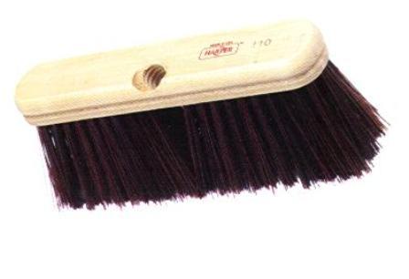9 Quot Hardwood Push Broom Medium Stiff Bristle School Bus