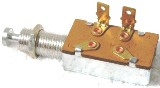 Door Momentary Switch (DPST, Normally ON - OFF with Plunger, Spring Return To ON) 2 blade