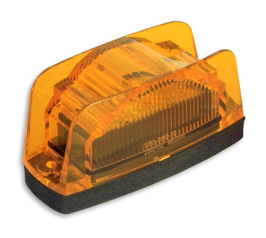 Led Clearance Marker Light With Plug Amber School Bus