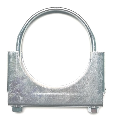 Heavy duty guillotine clamp with flat u bolt quot school