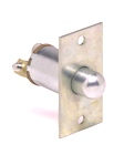 Door Momentary Switch (SPST, Normally ON - OFF with Plunger, Spring Return To ON) Mounting Plate