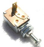 Door Momentary Switch (SPST, Normally OFF - ON with Plunger, Spring Return To OFF)