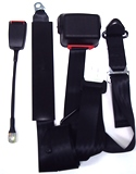 "3 Point 150"" Retractable Seatbelt w/ Adjustable Door Post Extension"