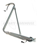IC Stainless Steel Crossview Assembly Heated Pass Side