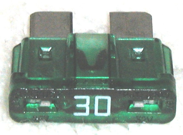 ATC Blade Fuse 30 amp - School Bus Parts - A Parts Warehouse