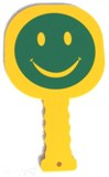 Crossing Guard Paddle Smiley/Stop