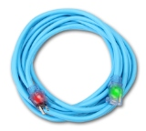 Sub Zero® SJEOW Cold Weather Extension Cords 50' 12/3 Blue
