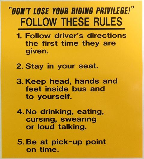 Follow These Rules 1 5 School Bus Parts For Sale A