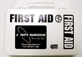 Michigan First Aid Kit with Metal White Box